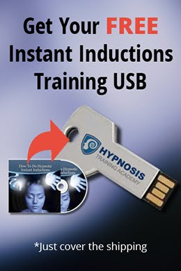 Get a free USB for hypnotic instant inductions video trainings
